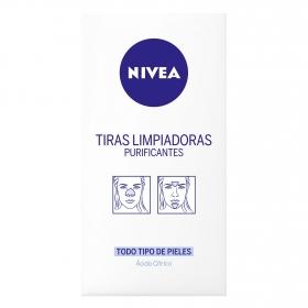 Tiras limpiadoras purificantes Nivea 6 ud.