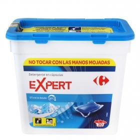 Detergente en cápsulas Expert azul