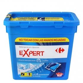 Detergente en cápsulas Expert azul duo