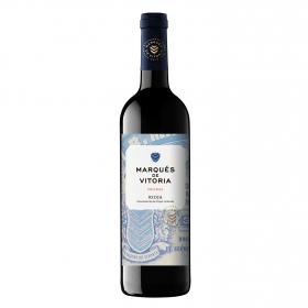 Vino D.O. Rioja tinto crianza Marqués de Vitoria 75 cl.