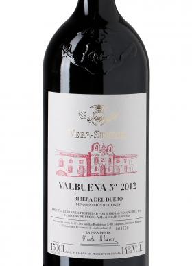 Vega Sicilia Valbuena 5º Año Tinto Reserva 2012