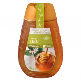 Miel de limón antigoteo Carrefour 350 g.
