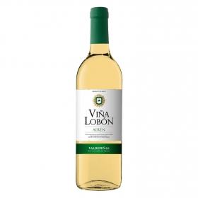Vino D.O. Valdepeñas Blanco Airén Viña Lobón 75 cl.