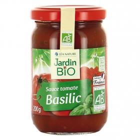 Salsa de tomate con albahaca Bio