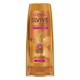 Acondicionador Aceite Extraordinario para cabello seco L'Oréal-Elvive 300 ml.