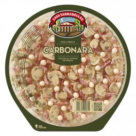 Pizza a la Carbonara Casa Tarradellas 400 g.