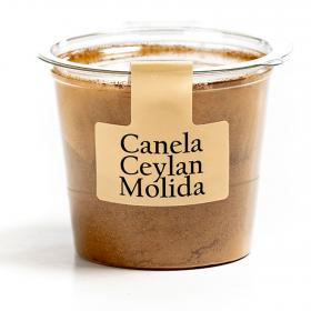 Canela ceylan molida tarrina 40 g