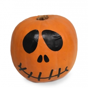 Calabaza halloween decorada ud