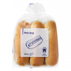 Pan para hot dog