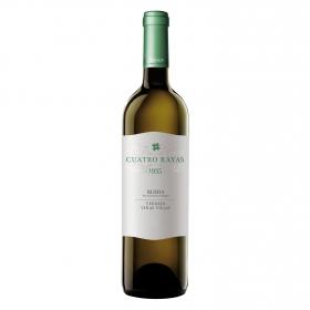 Vino D.O. Rueda blanco verdejo Cuatro Rayas 75 cl.