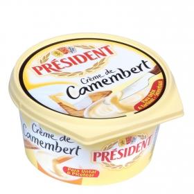 Queso de untar Crème de Camembert Président 125 g.
