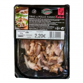 Pechuga de Pollo Kebak Carloteña de Asados envase 150 g