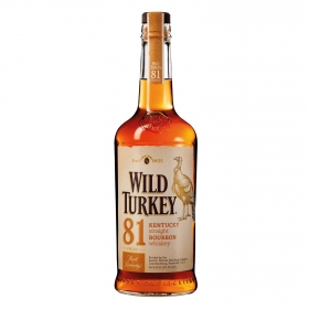 Whisky Kentuchy Bourbon Wild Turkey 70 cl.