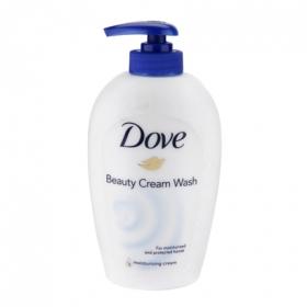 Jabón de manos crema hidratante Dove 250 ml.