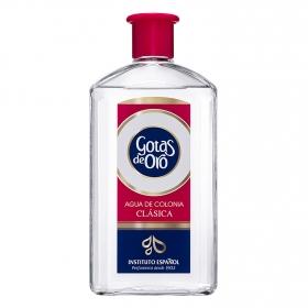 Agua de colonia clásica Gotas de Oro 600 ml.