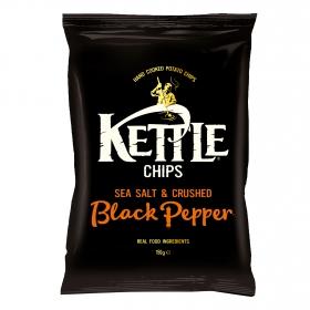 Patatas fritas a la pimienta negra Kettle 40 gr.