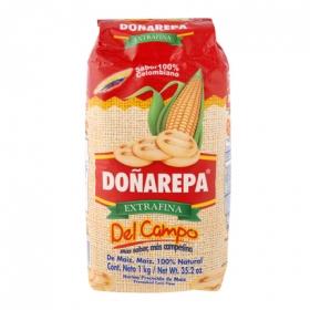 Harina de maíz Doña Arepa extra fina 1 kg.