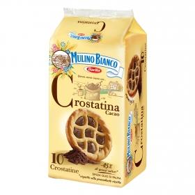 Galletas rellenas de cacao crostatina Mulino Bianco Barilla 400 g.