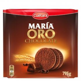 Galletas María oro de chocolate