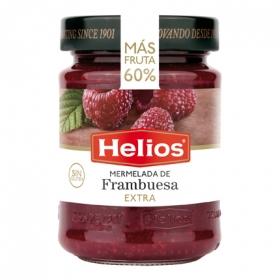Mermelada de frambuesa categoría extra Helios sin gluten 340 g.