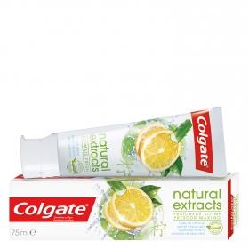 Dentífrico Naturals con aceite de limón y aloe vera