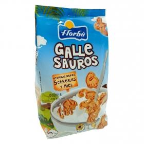 Galletas con cereales y miel Florbú 400 g.