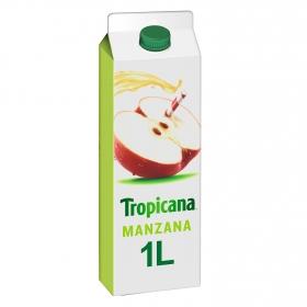 Zumo de manzana Tropicana brick 1 l.