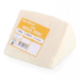 Queso mezcla tierno Carrefour 375 g aprox