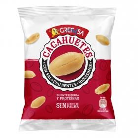 Cacahuetes salados Grefusa 180 g.