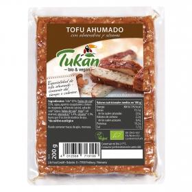 Tofu ahumado con almendras y sésamo Bio