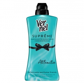 Suavizante concentrado Attraction Vernel 1,2 l.