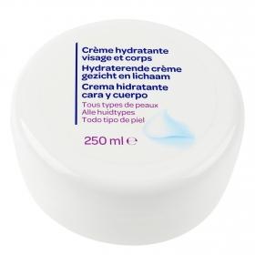 Crema hidratante corporal y facial