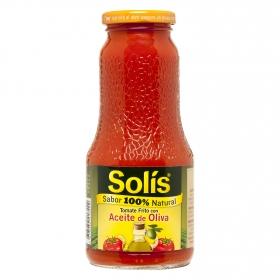Tomate frito con aceite de oliva Solís tarro 400 g.