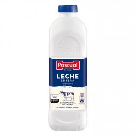 Leche entera Pascual botella 1,2 l.