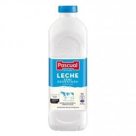 Leche semidesnatada Pascual botella 1,2 l.