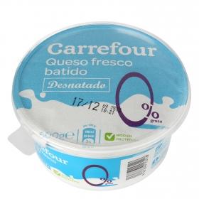 Queso fresco batido 0% m.g Carrefour 500 g.