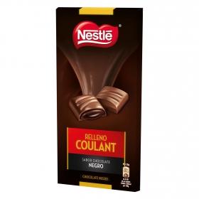 Relleno coulant de chocolate negro
