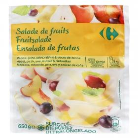 Ensalada de frutas congeladas