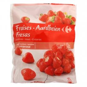 Fresas congeladas Carrefour 650 g.