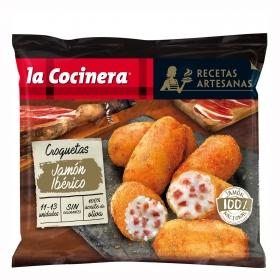 Croquetas de jamón ibérico La Cocinera 400 g.