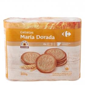 Galletas María dorada Carrefour 800 g.