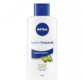 Body milk con aceite de oliva Nivea 400 ml.