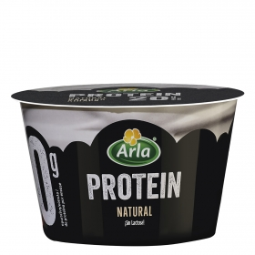 Yogur de queso batido natural protein