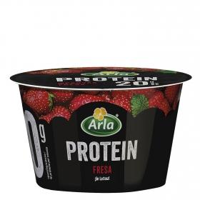 Queso fresco batido sabor fresa protein Arla 200 g.