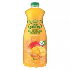 Néctar de Mango Don Simón Disfruta sin azúcar añadido botella 1,5 l.