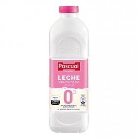 Leche desnatada Pascual botella 1,2 l.