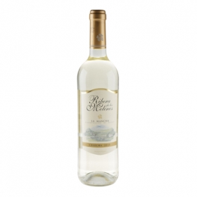 Vino D.O. Mancha blanco Ribera de los Molinos 75 cl.