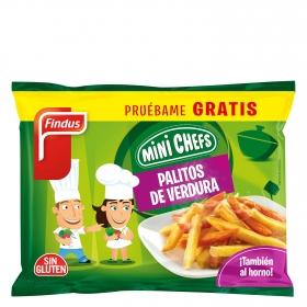 Palitos de verduras Mini Chefs Findus 250 g.