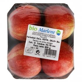 Manzana royal gala ecológica bandeja 4 ud 600 g