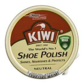 Crema para calzado color Incoloro Kiwi 50 ml.